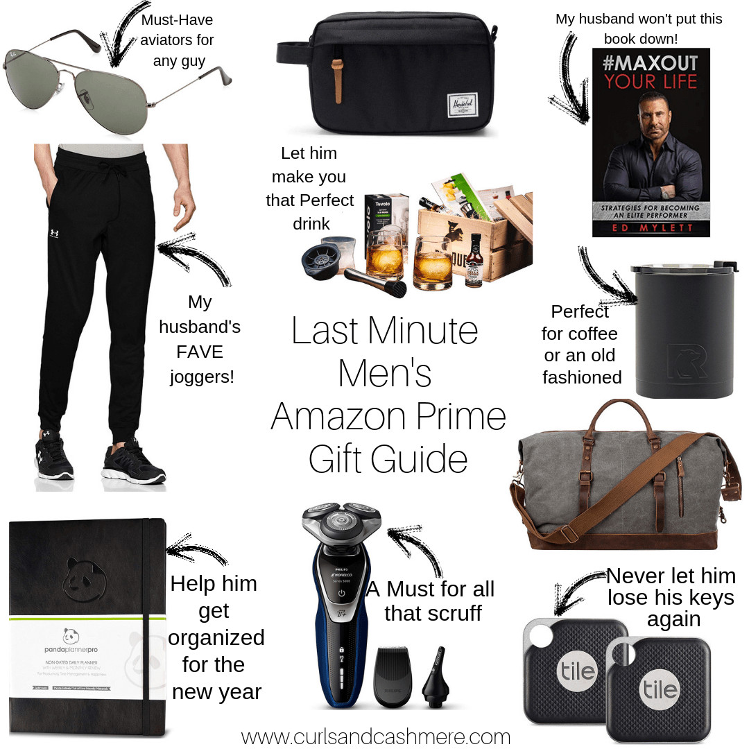 Last Minute Birthday Gift Ideas For Him  Last Minute Amazon Prime Men s Gift Guide