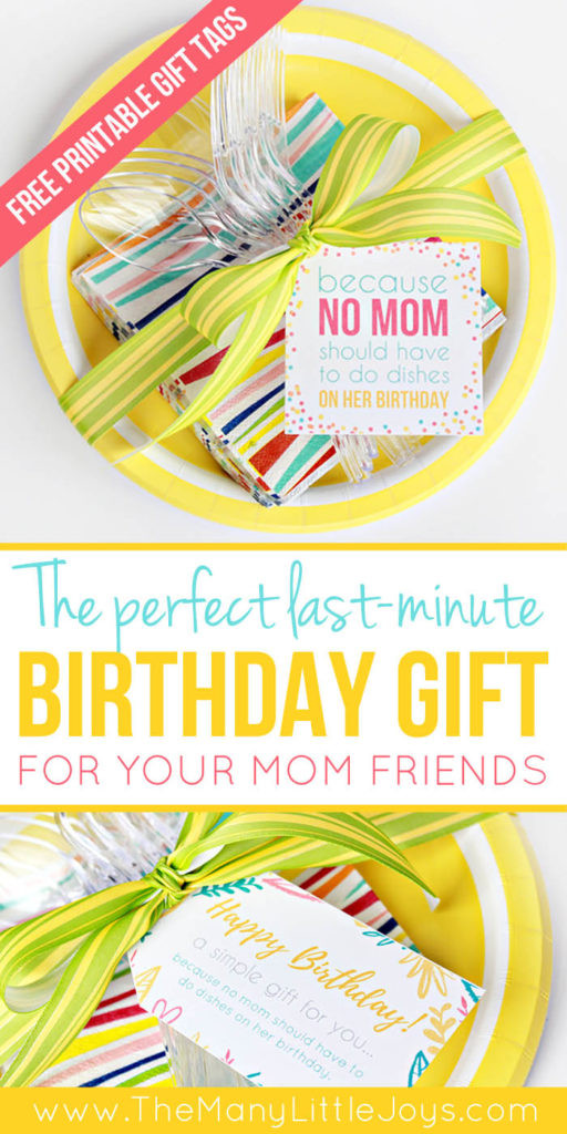 Last Minute Birthday Gifts For Mom  A meal with NO dishes a perfect last minute birthday t