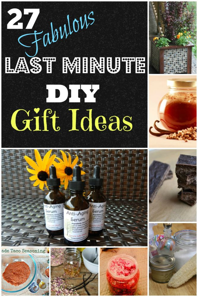 Last Minute Birthday Gifts For Mom  27 Last Minute DIY Gift Ideas Simple Life Mom