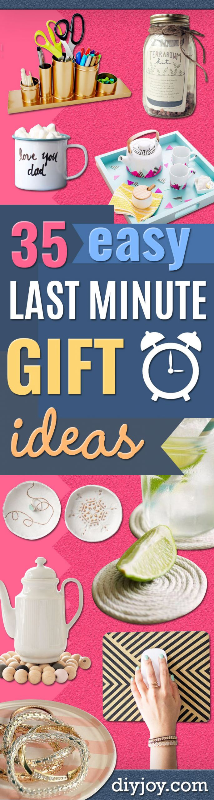 Last Minute Birthday Gifts For Mom  35 Last Minute DIY Gift Ideas