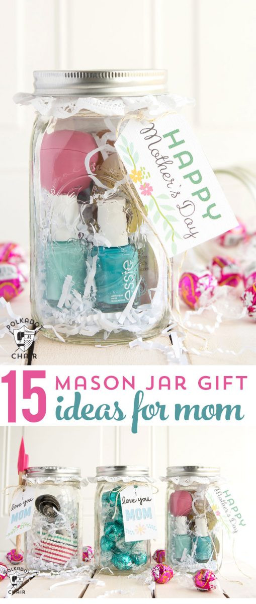 Last Minute Birthday Gifts For Mom  Last Minute Mother s Day Gift Ideas & cute Mason Jar Gifts