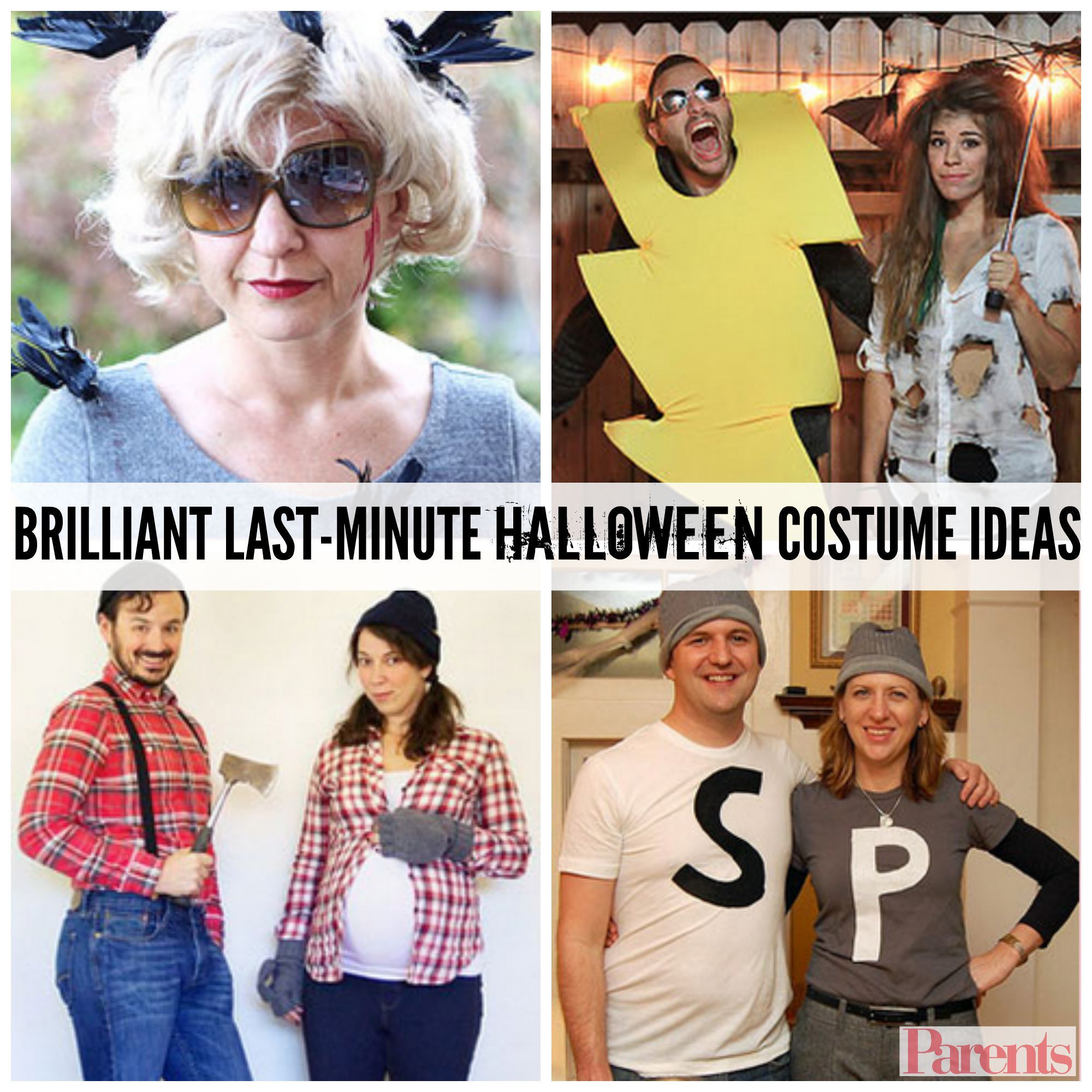 Last Minute DIY Halloween Costumes For Adults  The Best Last Minute Halloween Costumes for Adults