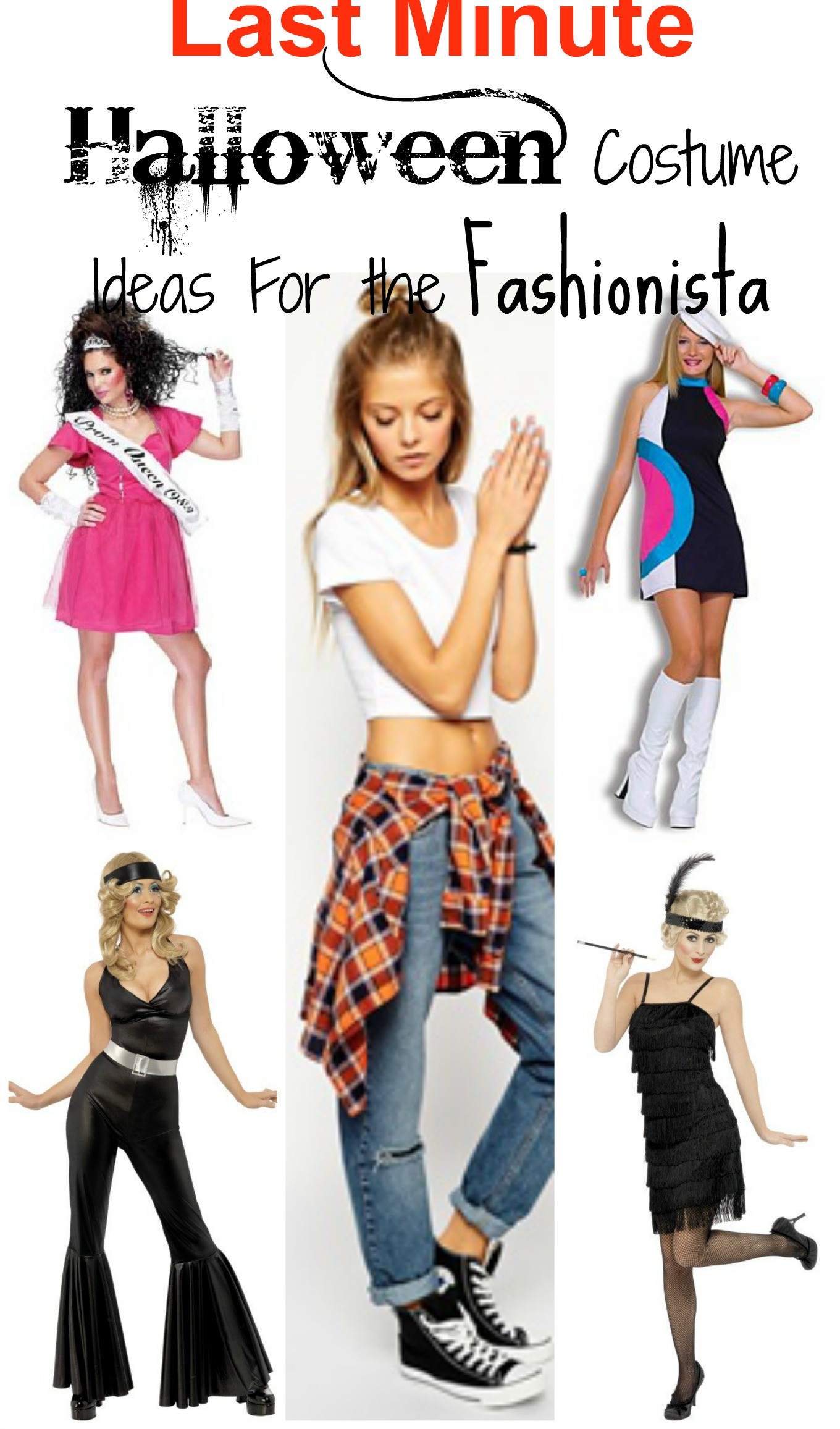Last Minute DIY Halloween Costumes For Adults  5 Last Minute Halloween Costume Ideas For The Fashionista