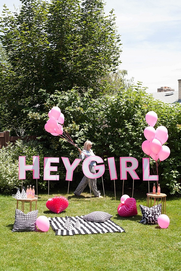 Lawn Decorations For Birthday  Top 10 DIY Decorations For a Birthday Party Top Inspired