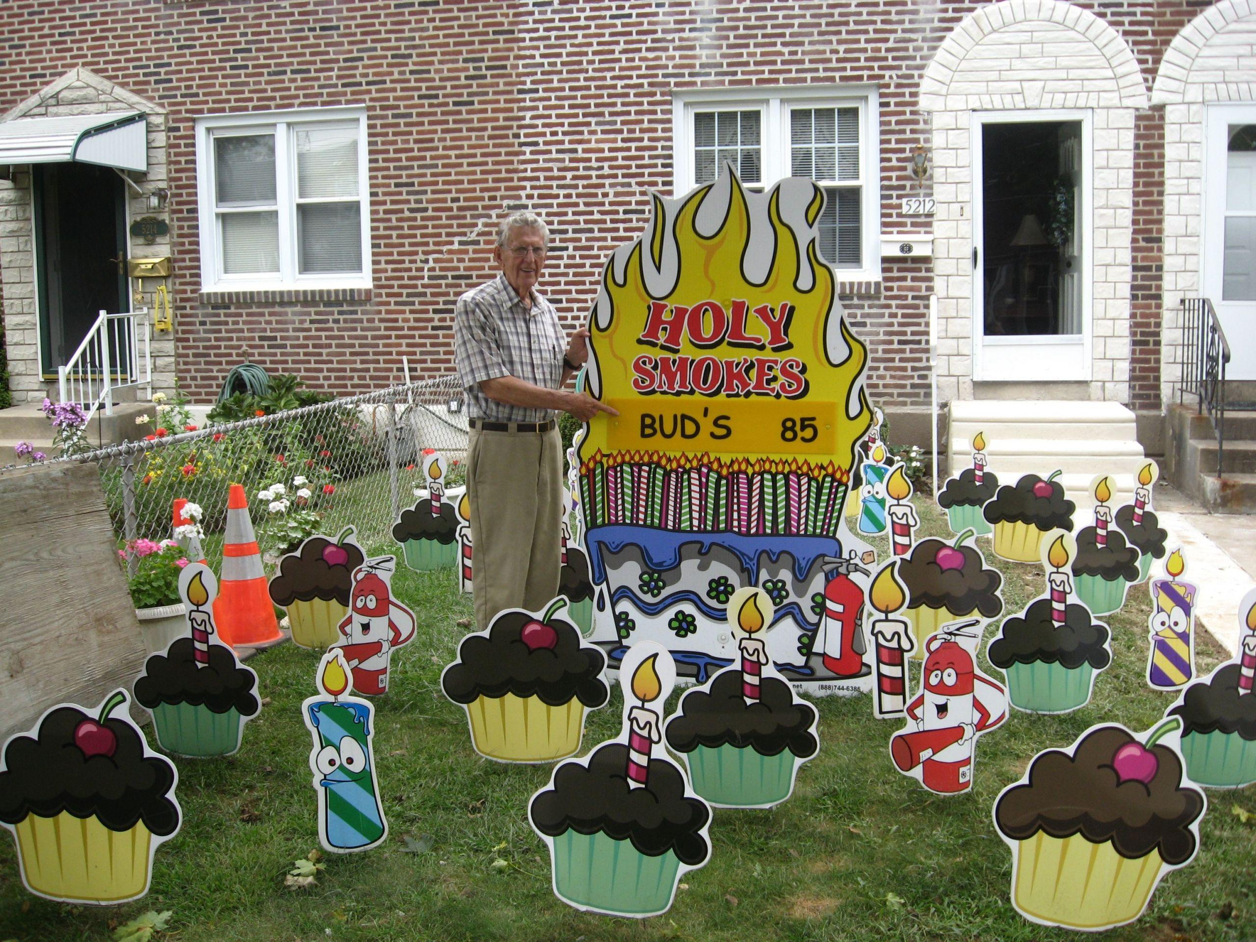 Lawn Decorations For Birthday  Yard Decorations For 50th Birthday