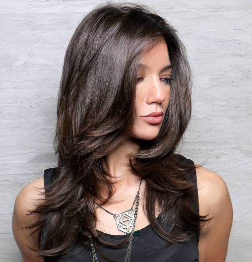 Layered Haircuts Long Hair  80 Cute Layered Hairstyles and Cuts for Long Hair in 2017