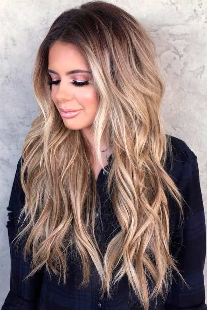 Layered Haircuts Long Hair  LONG LAYERED HAIRSTYLES 2019 These types of layers are