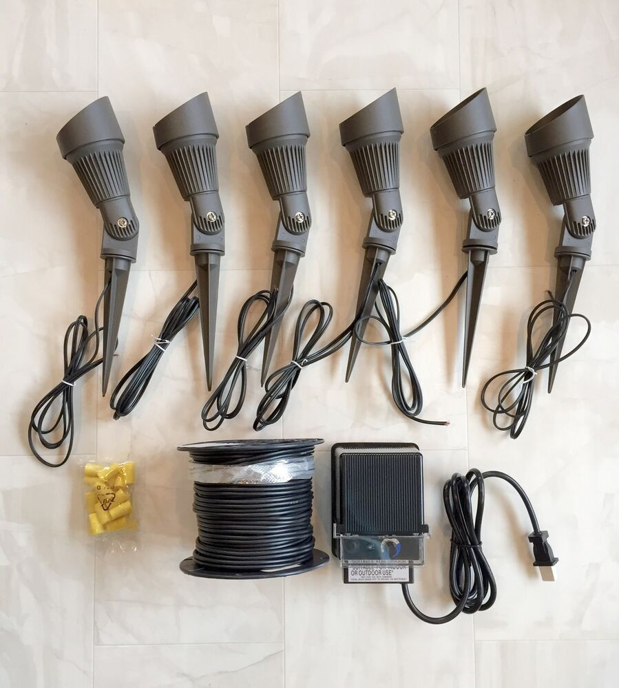 Led Landscape Lighting Kit  LED PHOENIX SPOT LIGHT LOW VOLTAGE OUTDOOR LANDSCAPE