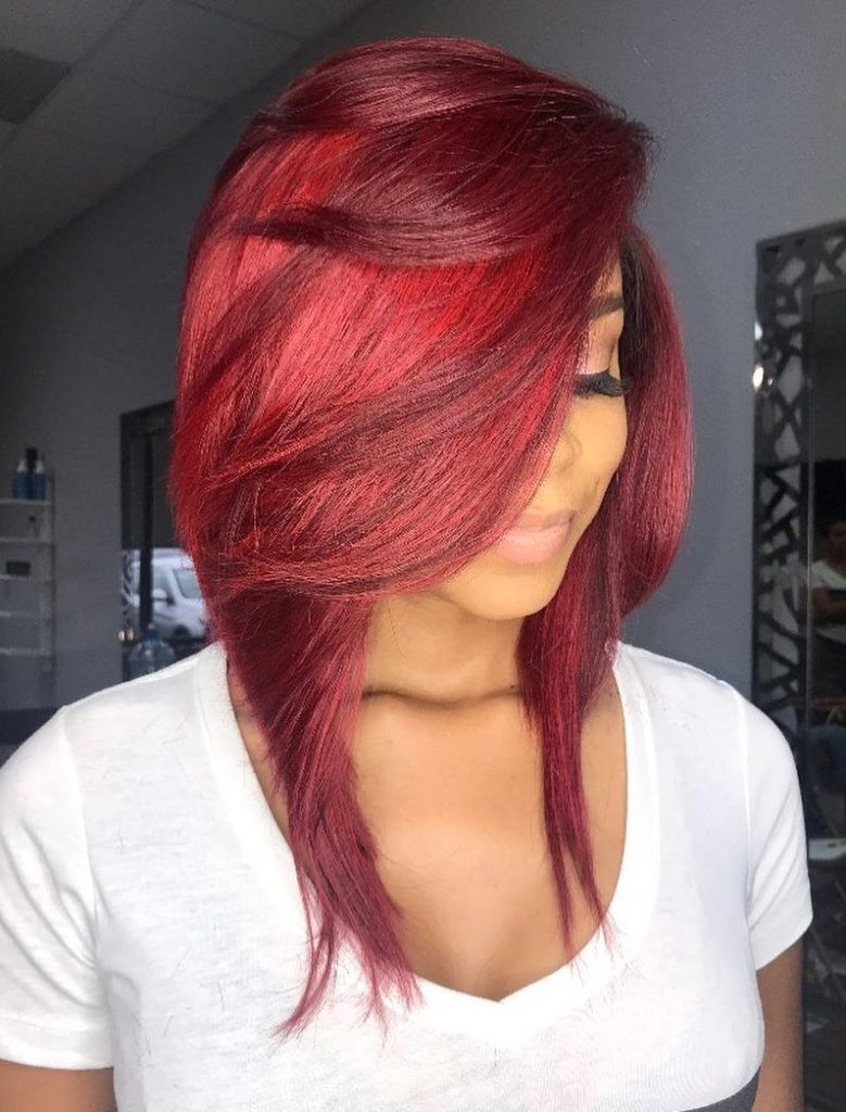 Long Bob Hairstyles For Black Females  20 Bob Hairstyles for Black Women for Rocking Look