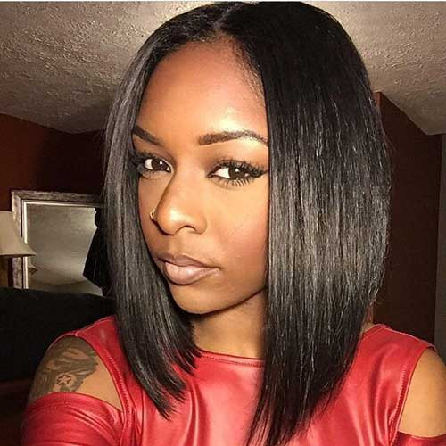 Long Bob Hairstyles For Black Females  20 Long Bob Hairstyles for Black Women