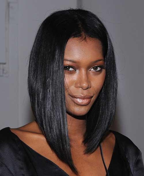 Long Bob Hairstyles For Black Females  15 Long Bob Hairstyles for Black Women