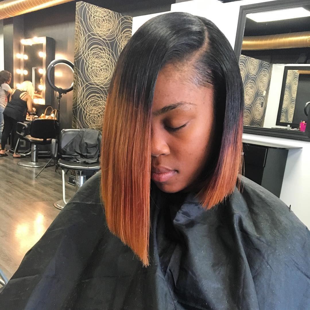 Long Bob Hairstyles For Black Females  60 Elegant Long and Short Bob Hairstyles for Black Women