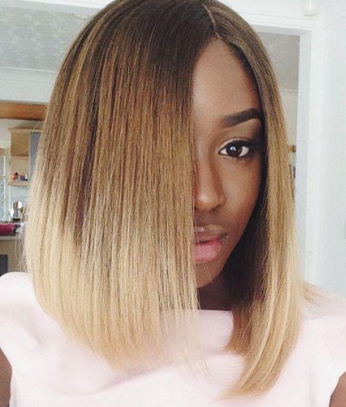 Long Bob Hairstyles For Black Females  60 Showiest Bob Haircuts for Black Women