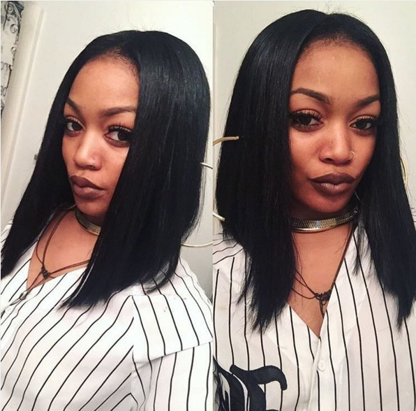 Long Bob Hairstyles For Black Females  20 Cool Hairstyles for African American Women Pretty Designs
