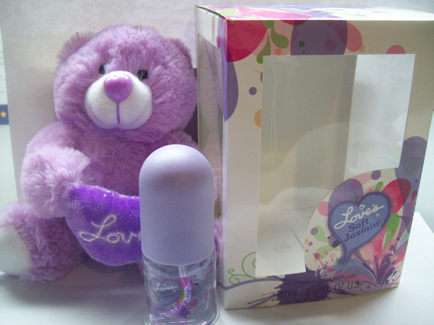 Loves Baby Soft Perfume Gift Sets  Amazon Dana Love s Baby Soft Gift Set with Teddy