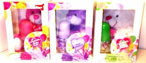 Loves Baby Soft Perfume Gift Sets  Three Love s Baby Soft Gift Sets Bear & Perfume