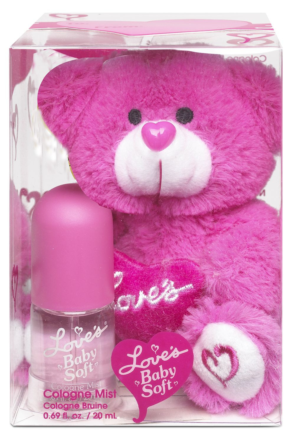 Loves Baby Soft Perfume Gift Sets  Love s Baby Soft Fragrance Gift Set with Bear