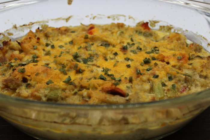 Low Carb Seafood Casserole  Seafood Casserole Low Carb Keto GF My Crash Test Life
