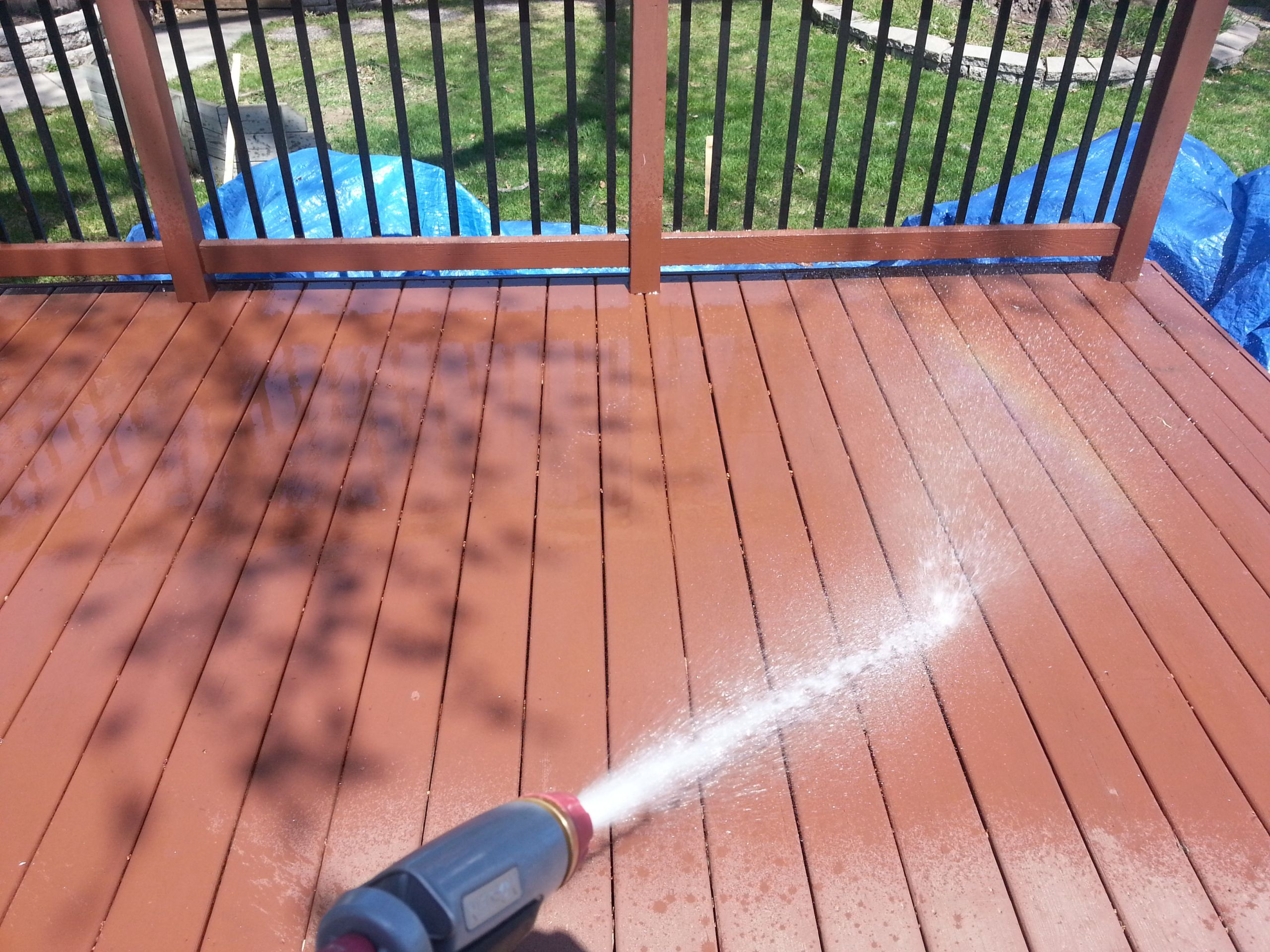 Lowes Deck Paint Restore  Decor Lowes Deck Design With Stunning Wood Fence For
