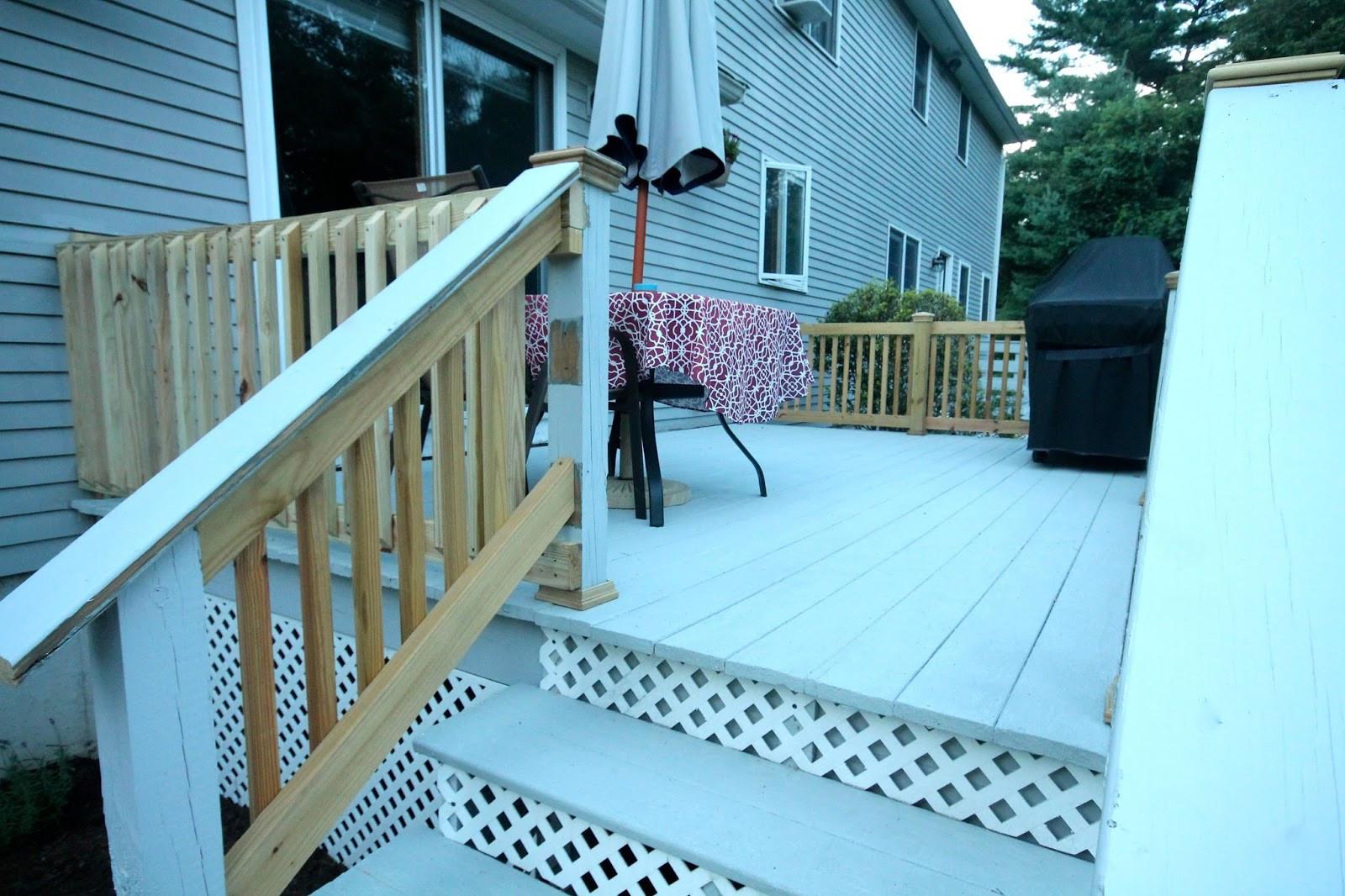 Lowes Deck Paint Restore  Rustoleum Deck Restore Project and Review