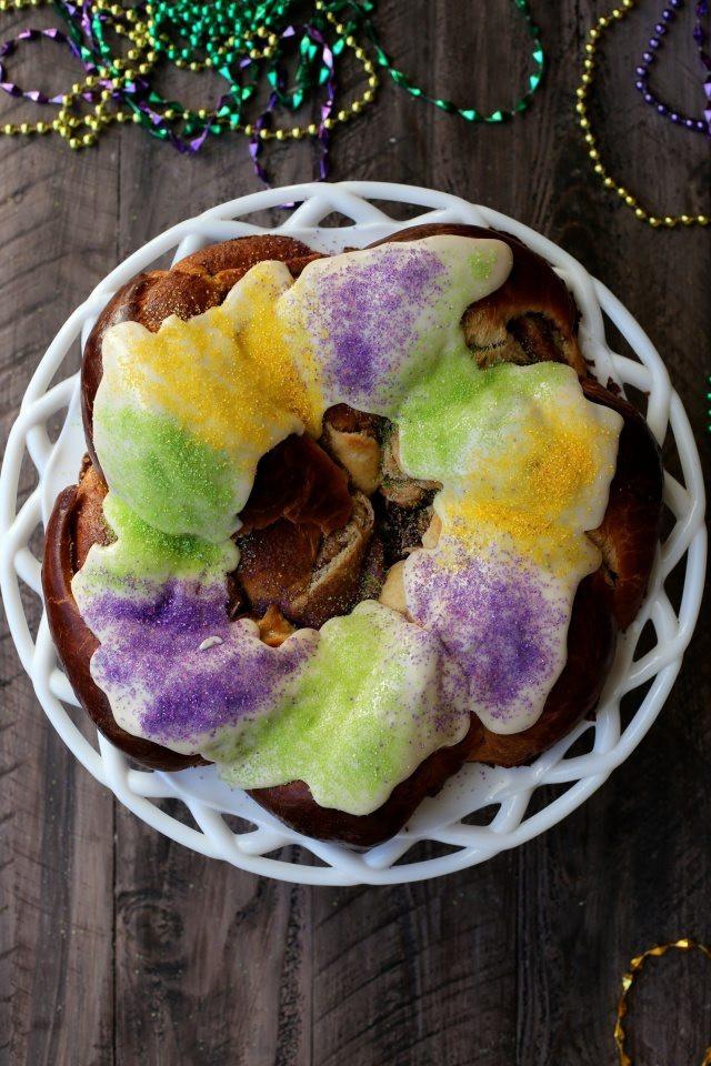 Mardi Gras King Cake Recipe  Mardi Gras King Cake