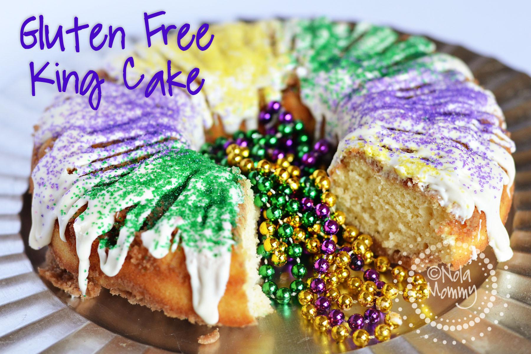 Mardi Gras King Cake Recipe  Gluten Free King Cake Recipe NOLA Mommy