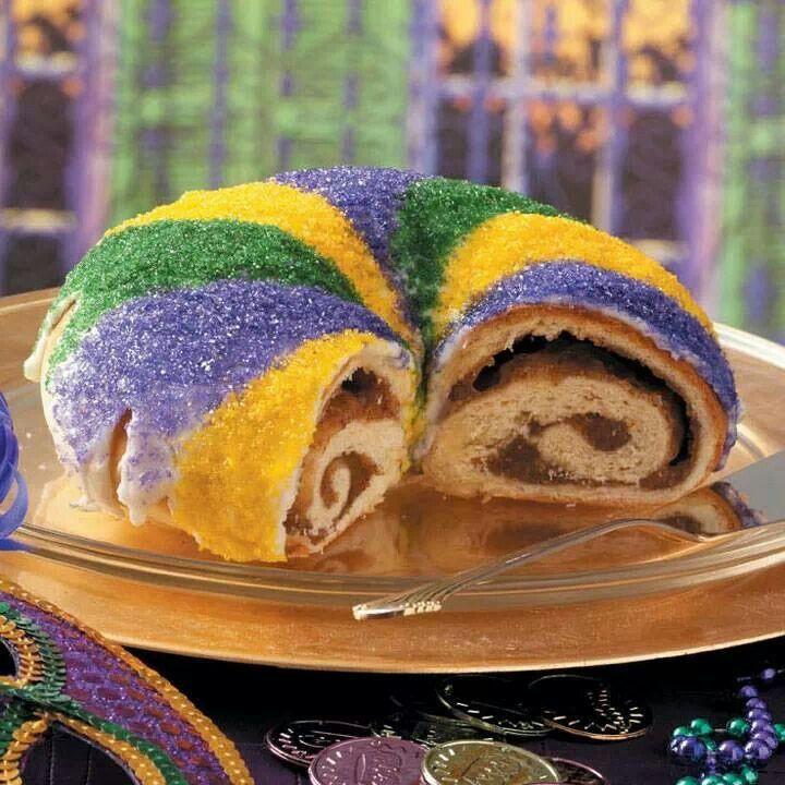 Mardi Gras King Cake Recipe  Mardi Gras King Cake Recipe — Dishmaps