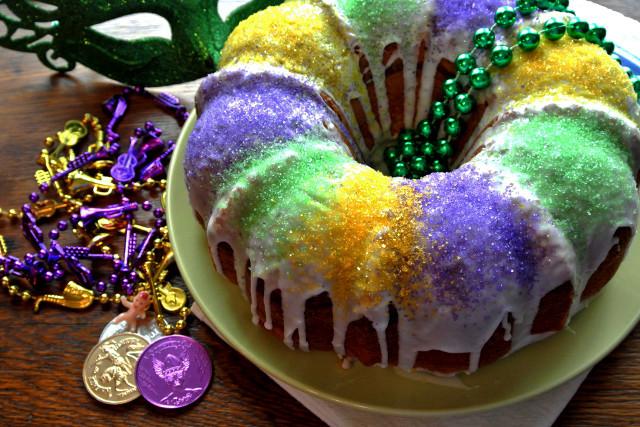 Mardi Gras King Cake Recipe  RECIPE Quick and easy Mardi Gras King Cake
