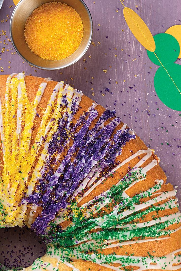 Mardi Gras King Cake Recipe  Mardi Gras King Cake Recipe