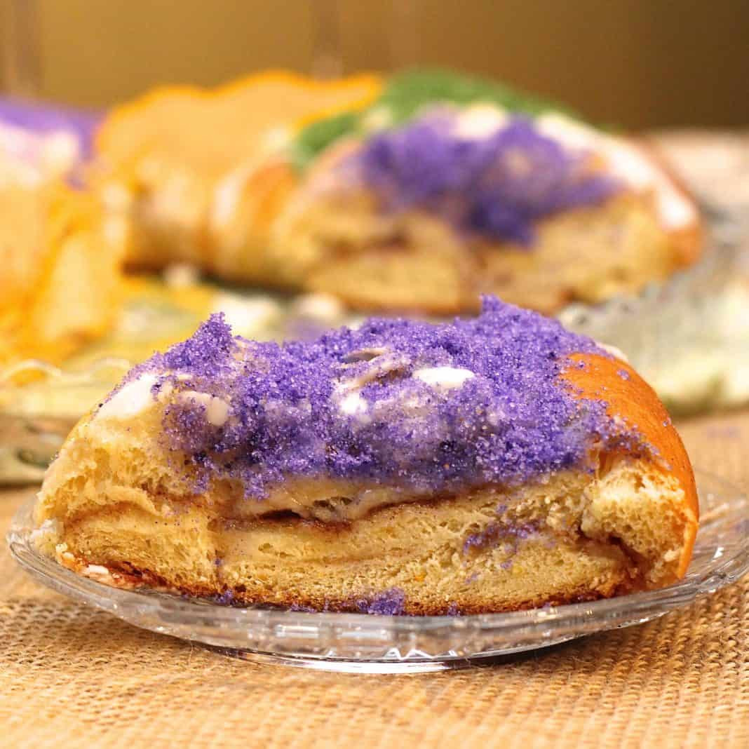 Mardi Gras King Cake Recipe  Traditional Mardi Gras King Cake Recipe ZagLeft