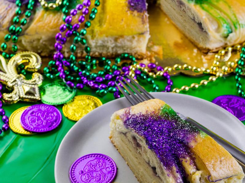 Mardi Gras King Cake Recipe  Mardi Gras King Cake Prairie Farms Recipes
