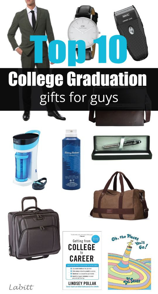Masters Graduation Gift Ideas For Him  College Graduation Gift Ideas for Guys [Updated 2019