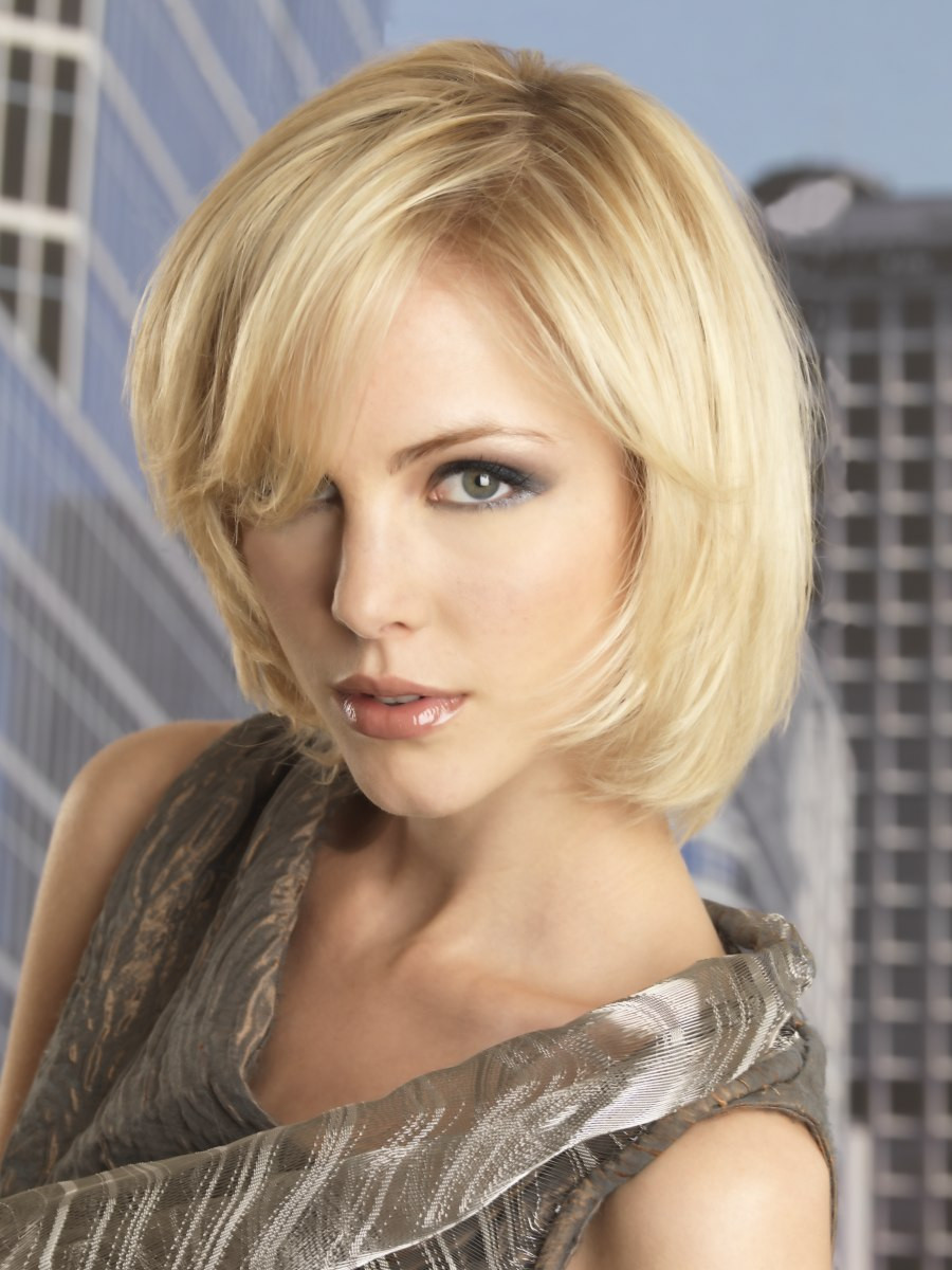 Medium Haircuts Women  Short hairstyles for a woman who wants to express her own