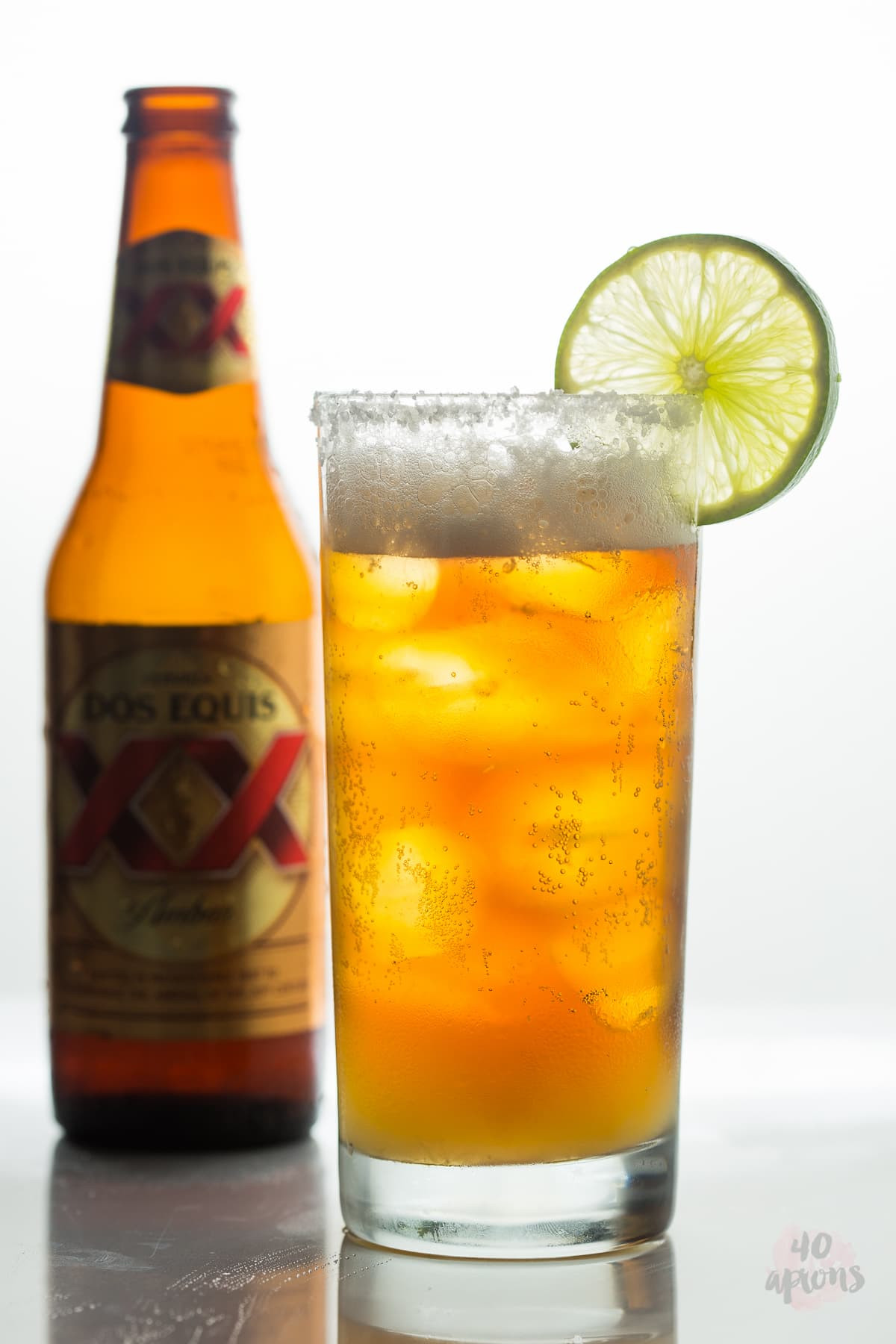 Mexican Beer Cocktails  Chelada Mexican Beer Cocktail 40 Aprons