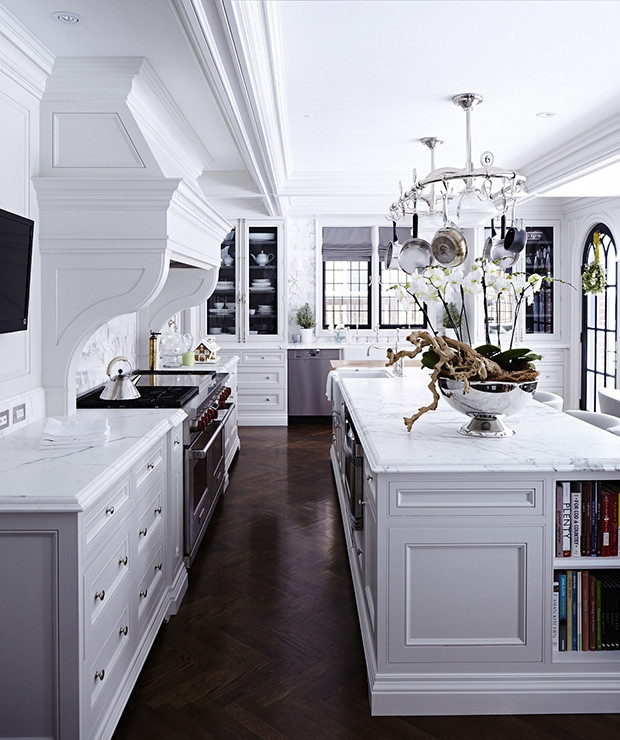 Modern Traditional Kitchen  House & Home