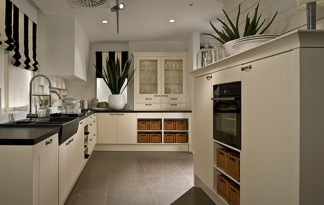 Modern Traditional Kitchen  Traditional kitchen with a modern twist Contemporary