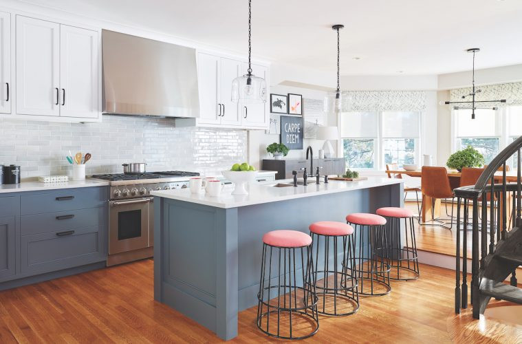 Modern Traditional Kitchen  Modern Kitchen in a Traditional Home Northshore Magazine