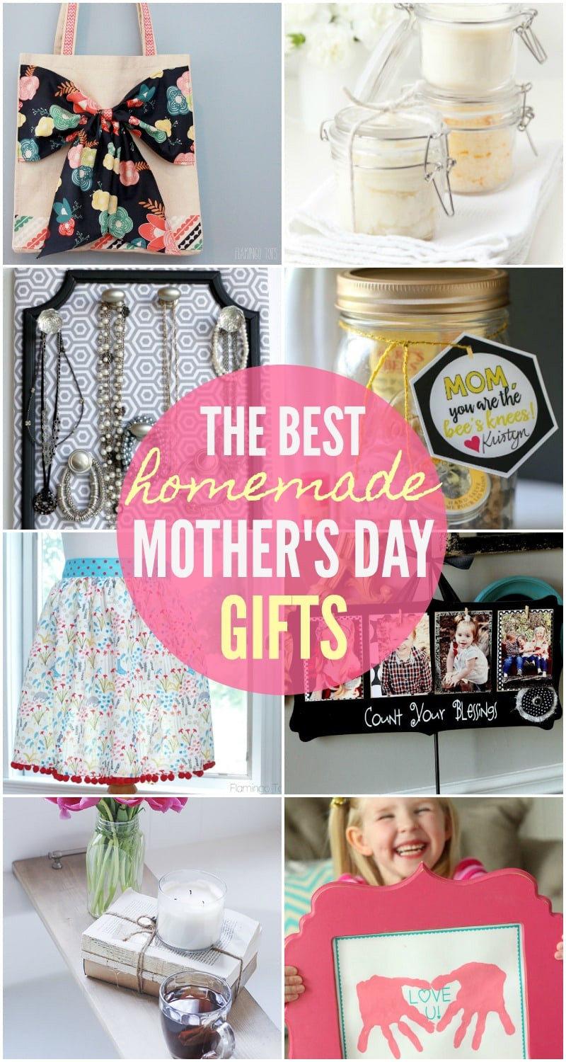 Mother Day Homemade Gift Ideas  BEST Homemade Mothers Day Gifts so many great ideas