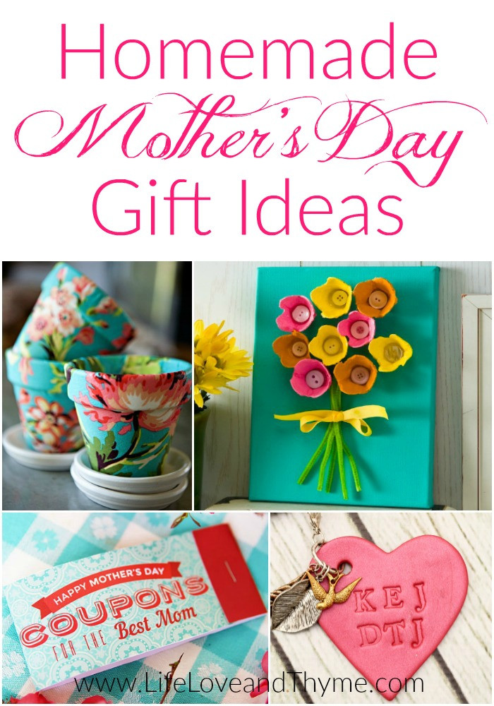 Mother Day Homemade Gift Ideas  Homemade Mother s Day Gift Ideas
