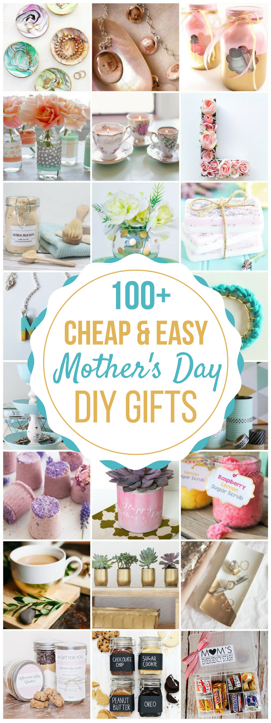 Mother Day Homemade Gift Ideas  100 Cheap & Easy DIY Mother s Day Gifts Prudent Penny
