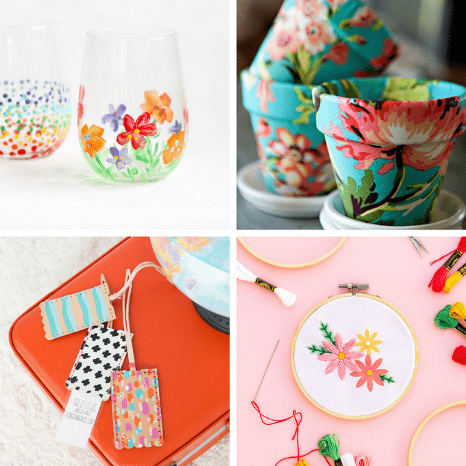 Mother Day Homemade Gift Ideas  A roundup of 20 homemade Mother s Day t ideas from adults