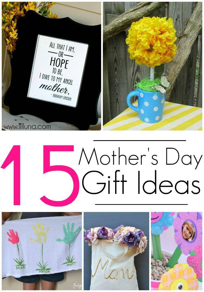 Mother Day Homemade Gift Ideas  15 DIY Gift Ideas for Mothers Day Crafts & Homemade Gifts