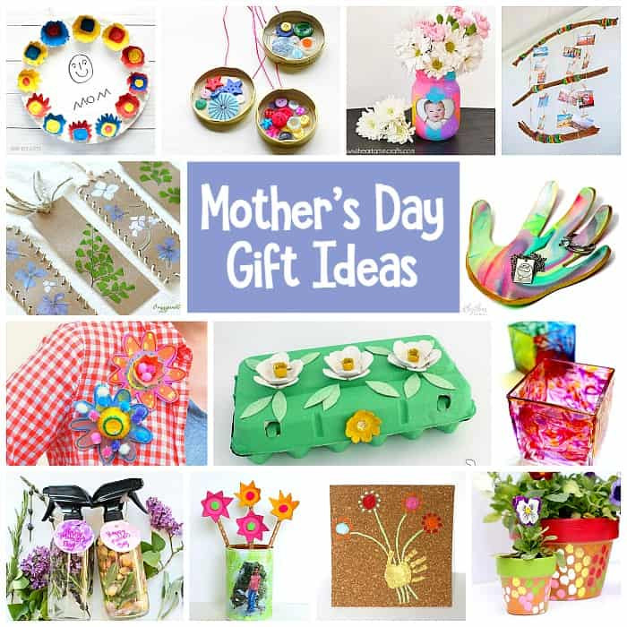 Mother Day Homemade Gift Ideas  Mother s Day Homemade Gifts for Kids to Make Buggy and Buddy