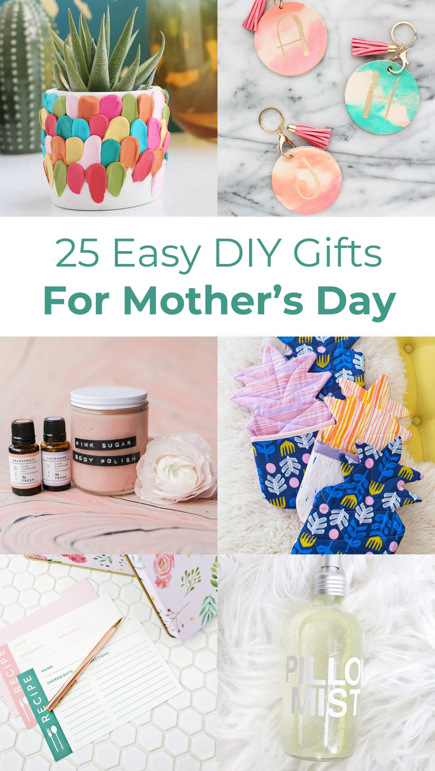 Mother Day Homemade Gift Ideas  25 Easy DIY Gift Ideas For Mother's Day