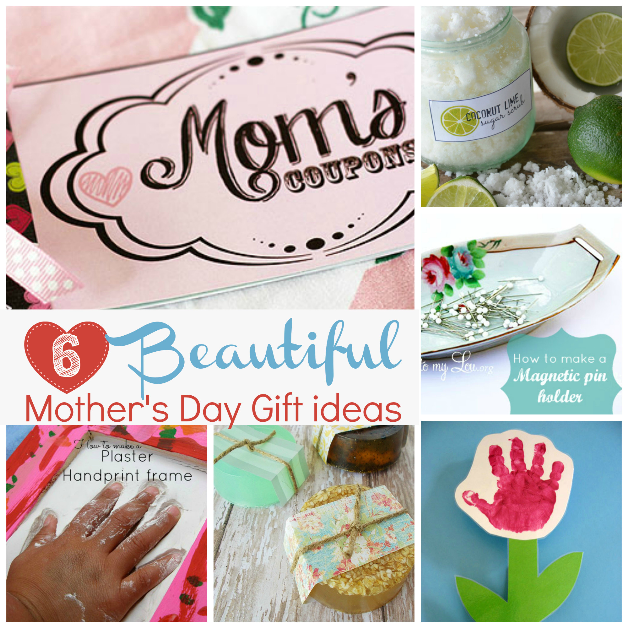 Mother Day Homemade Gift Ideas  Handmade t ideas for Mother s Day