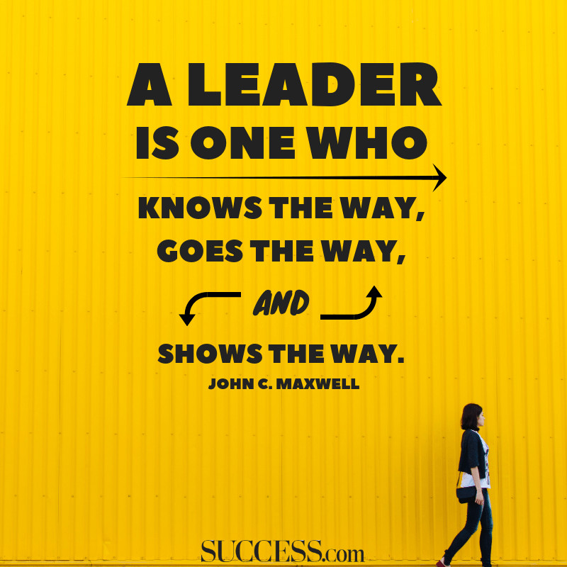Motivational Leadership Quote  10 Powerful Quotes on Leadership