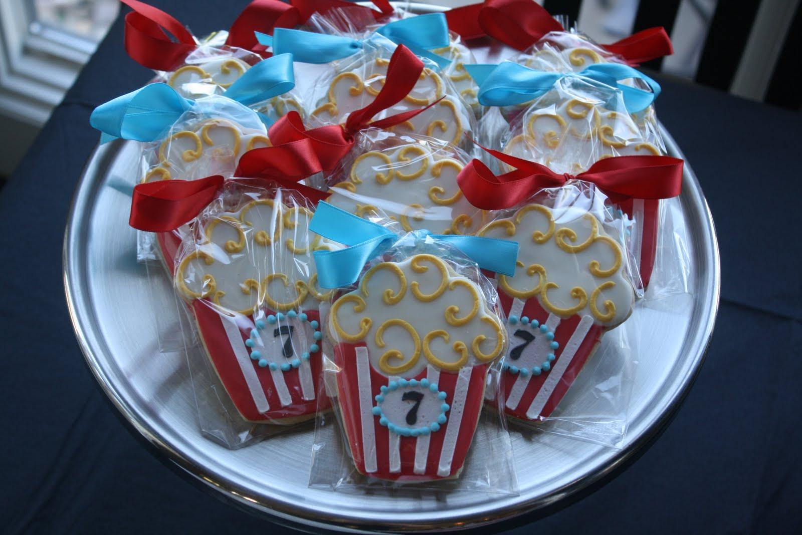 Movie Night Birthday Party  Meringue Outdoor Movie Night Birthday Party