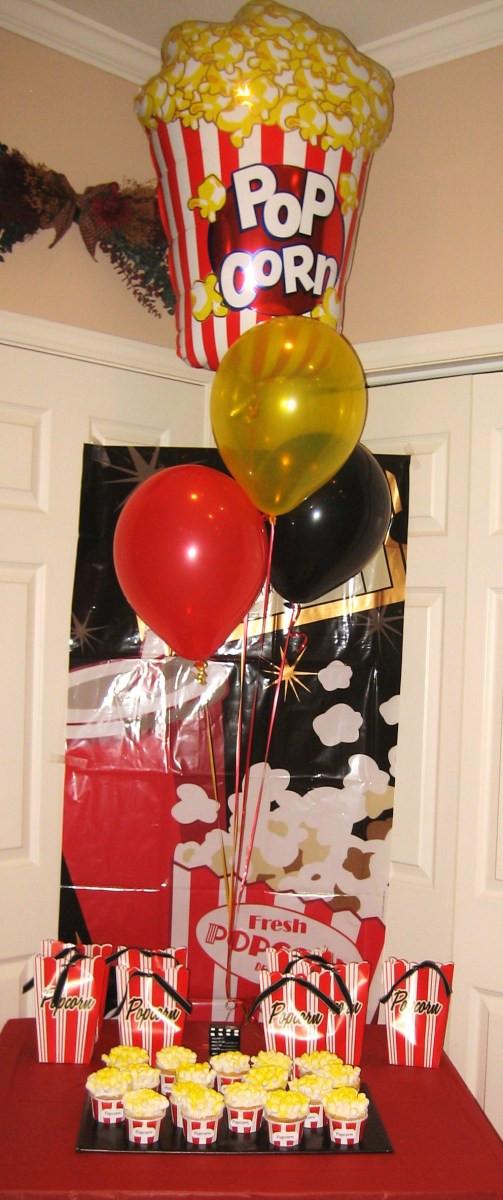 Movie Night Birthday Party  Movie Night Birthday Party Ideas and Games