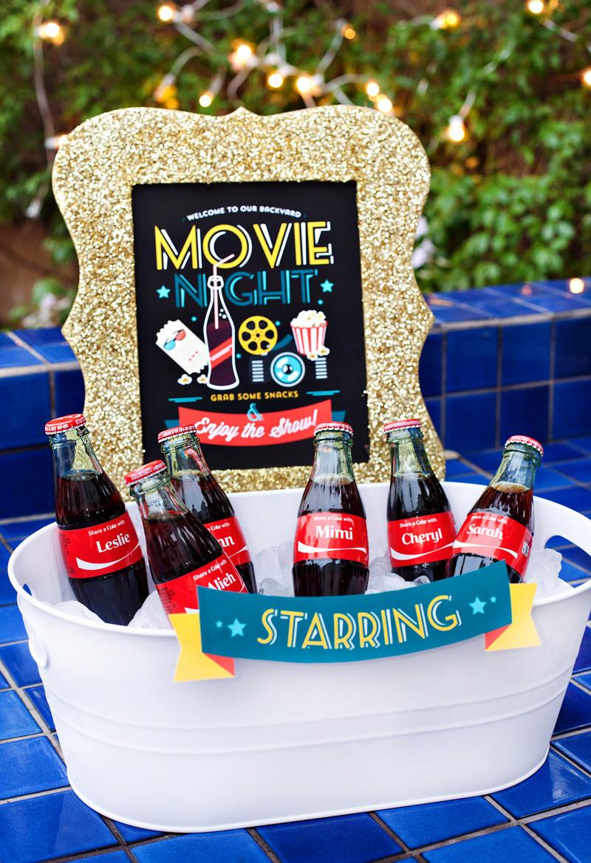 Movie Night Birthday Party  Simple & Creative Outdoor Movie Night Ideas Hostess