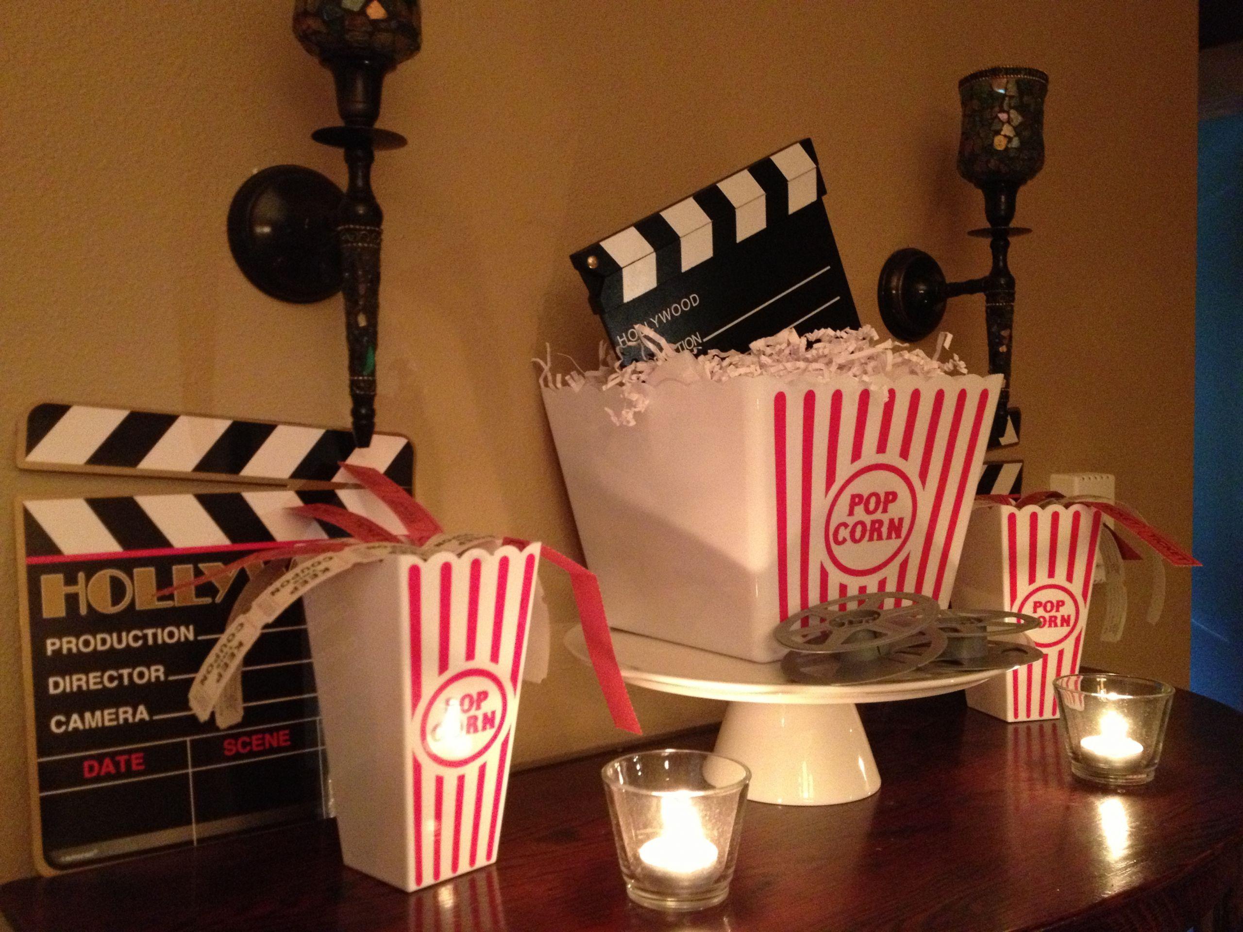 Movie Night Birthday Party  Movie night party
